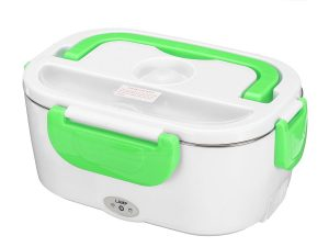 Lunch box electrique verte