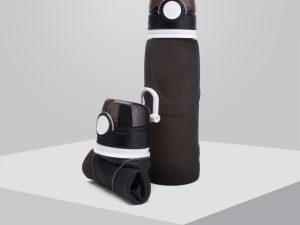 bouteille d'eau pliable de voyage
