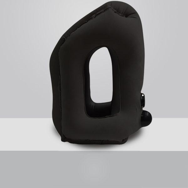 Coussin de voyage gonflable black
